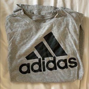Grey & Black adidas shirt